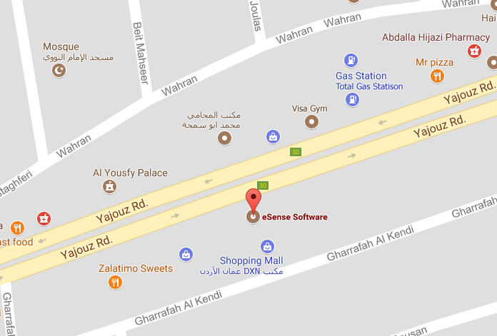 eSense Amman Location